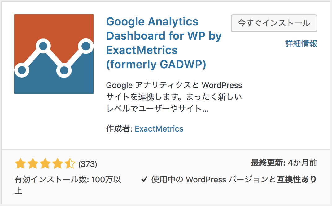 Google Analytics Dashboard for WP,写真